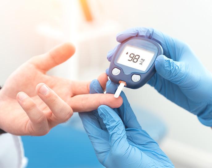 Suivi de diabète à domicile près de Roubaix